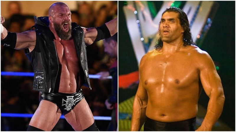 triple h and the great khali
