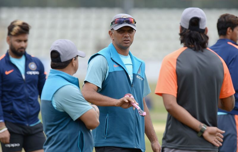 Rahul Dravid has been a successful coach at the Under 19 level