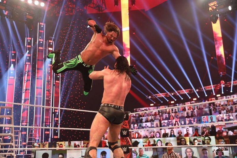 AJ Styles took Drew McIntyre to the limit at WWE TLC