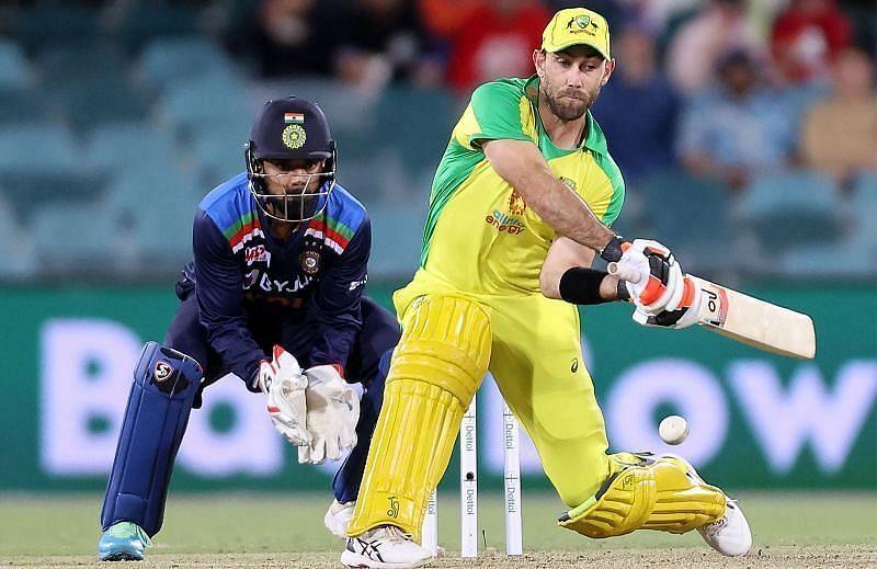 Fair or Unfair? Glenn Maxwell plays the switch-hit. Pic: cricket.com.au