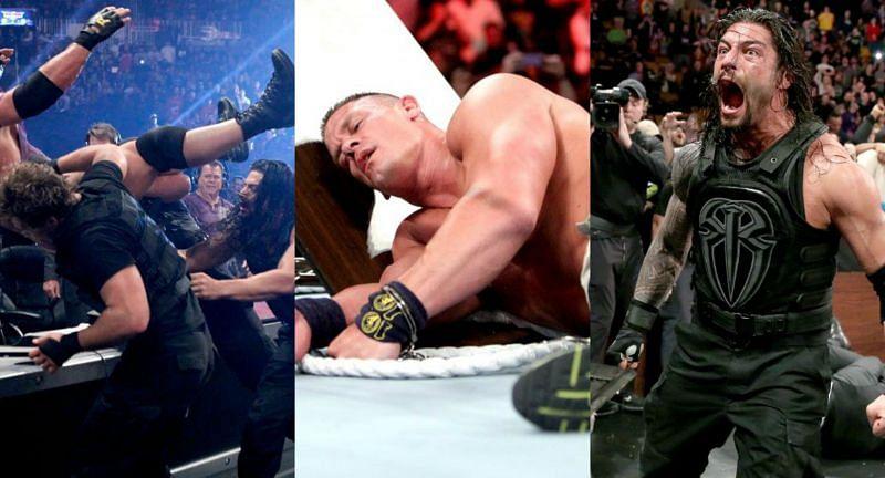रोमन रेंस का WWE TLC मैच में रिकॉर्ड कुछ खास नहीं है