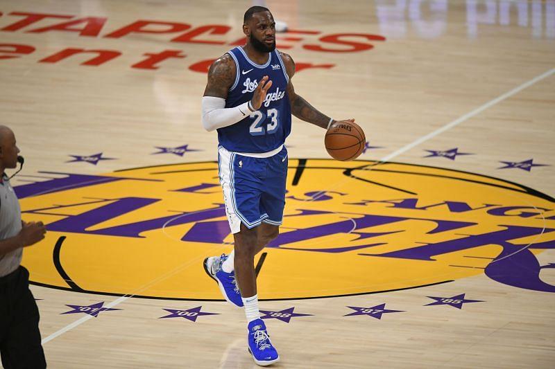 James has four NBA MVPs.