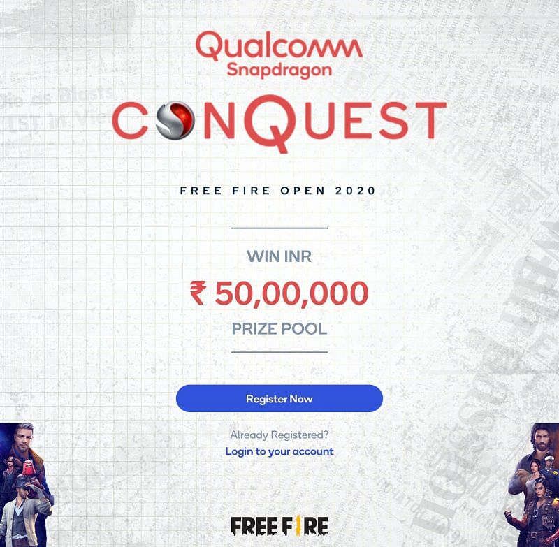Qualcomm Snapdragon Conquest Free Fire Open 2020