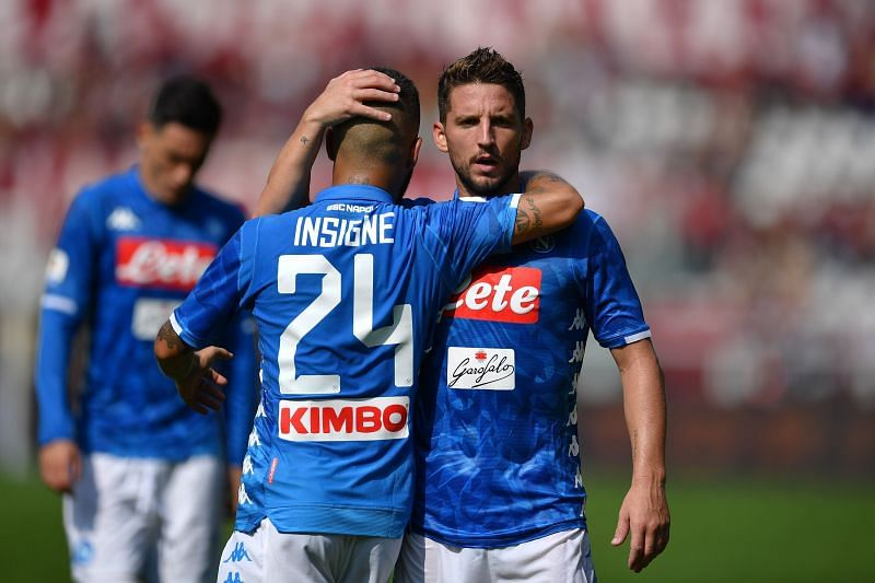 Napoli have a depleted squad