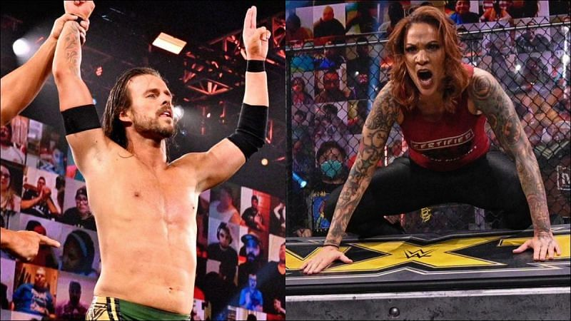 Adam Cole once again found himself on the top of WWE NXT