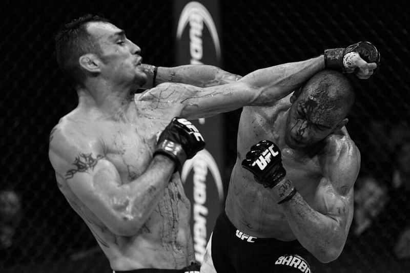 Tony Ferguson survived a bloodbath to choke out Edson Barboza in 2015.