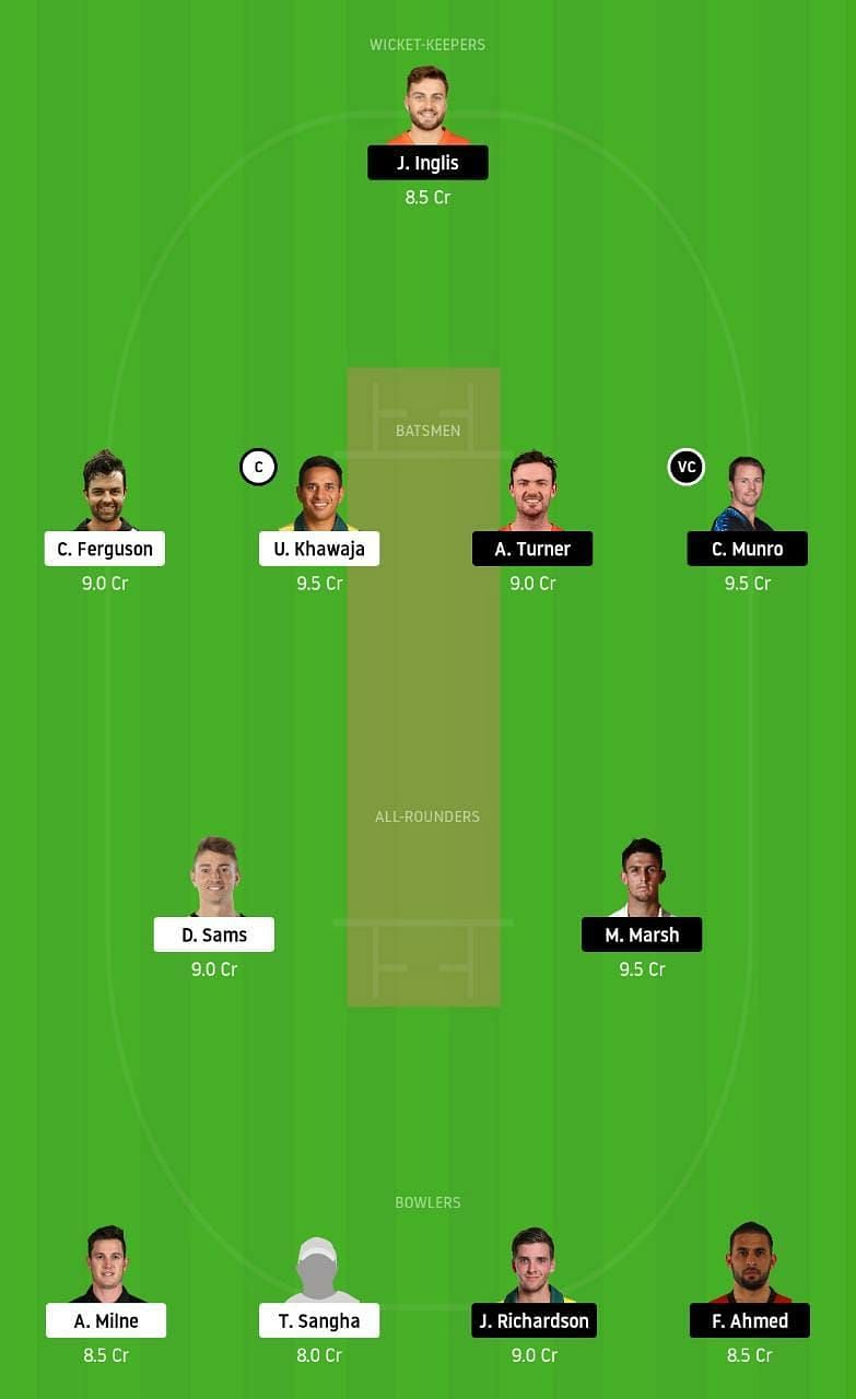 THU vs SCO Dream11 Tips