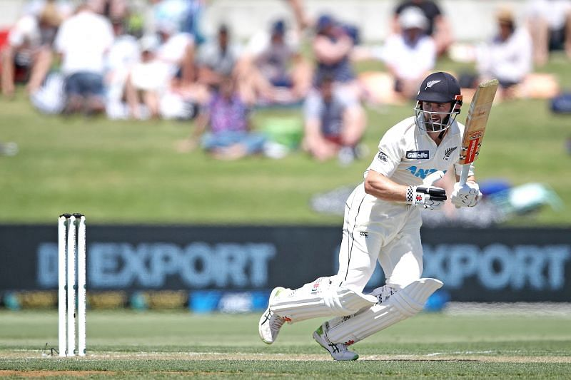 Kane Williamson hit a fine century for New Zealand