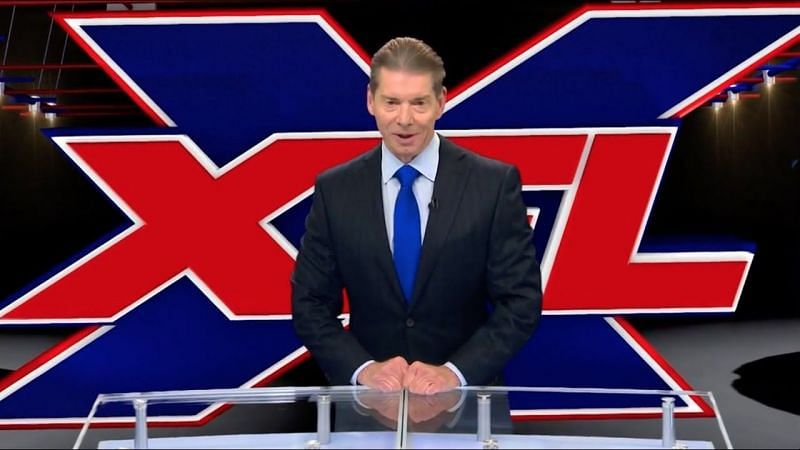 Vince McMahon originally launched the XFL in the year 2000