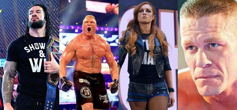 WWE सुपरस्टार्स रोमन रेंस, ब्रॉक लैसनर, बैकी लिंच और जॉन सीना किस देश के हैं?