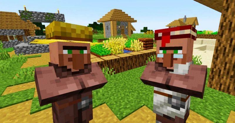 Minecraft Villagers Spawning