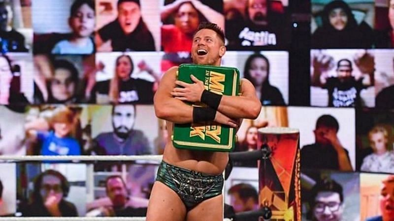 The Miz cashed in his MITB contract at WWE TLC