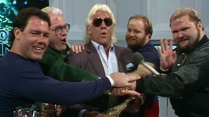 Vince McMahon could not take creative credit for The Four Horsemen