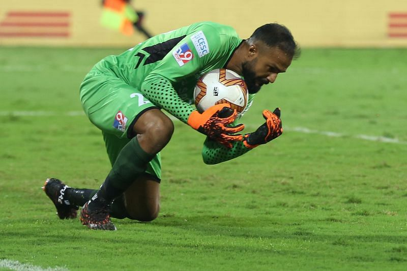 ATK Mohun Bagan goalkeeper Arindam Bhattacharya won the
