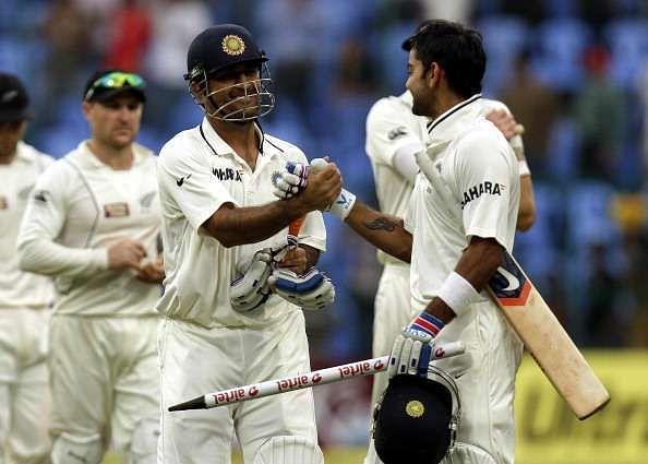 जीत हासिल करने के बाद भारतीय टीम