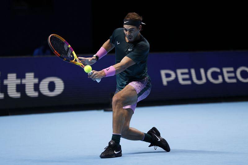 Rafael Nadal at the ATP Finals