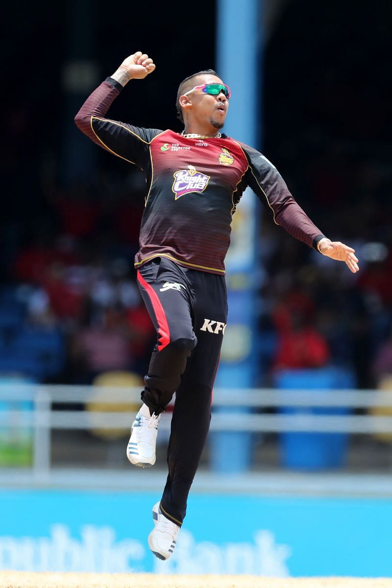 Sunil Narine has been named the icon player for the Deccan Gladiators.