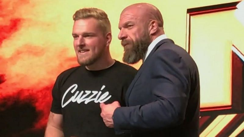 Triple H was impressed with Pat McAfee