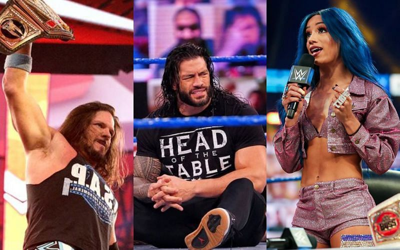 There are a few important title matches scheduled for WWE TLC
