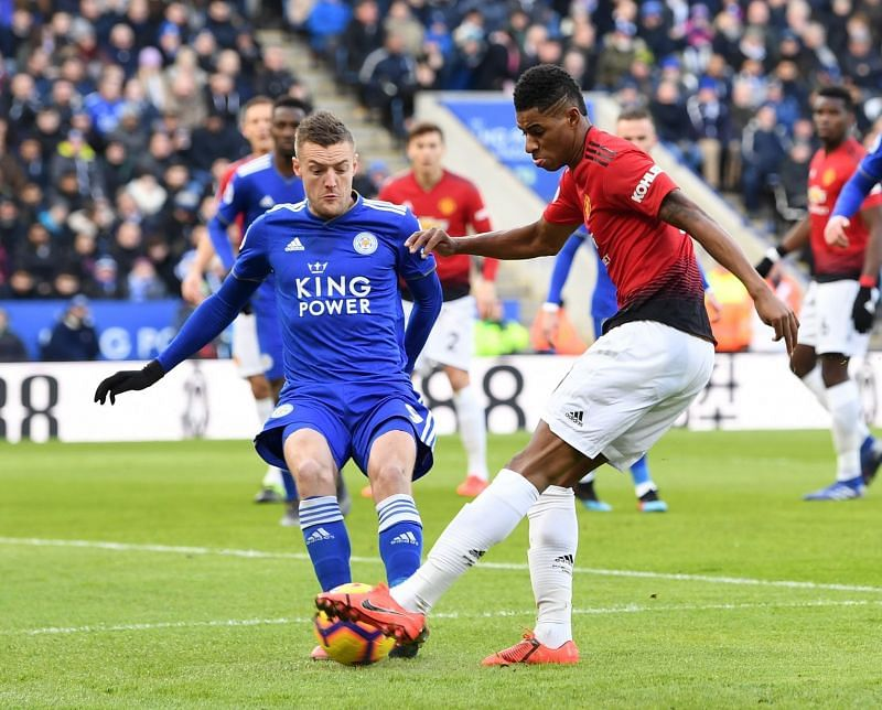 Manchester United can reach second position on the table by defeating Leicester City