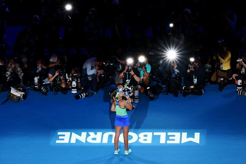 Sofia Kenin, the 2020 Australian Open champion