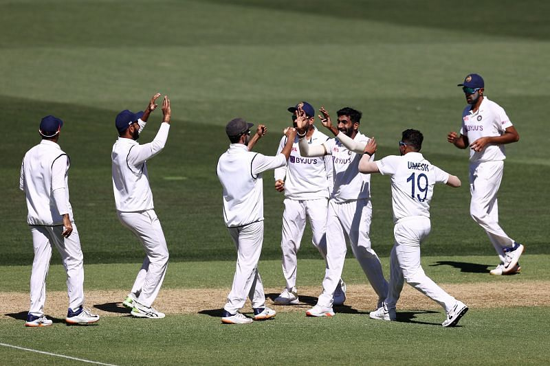 India dominated day two to take control of the first test