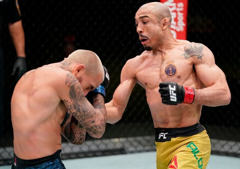 Jose Aldo looked excellent in his win over Marlon Vera