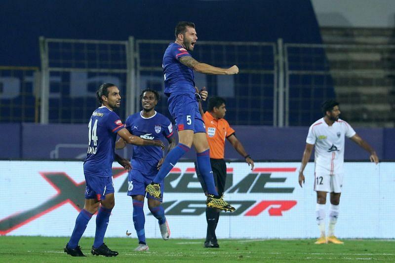 Juanan is the top goalscorer for Bengaluru FC this season so far (Image courtesy: ISL)