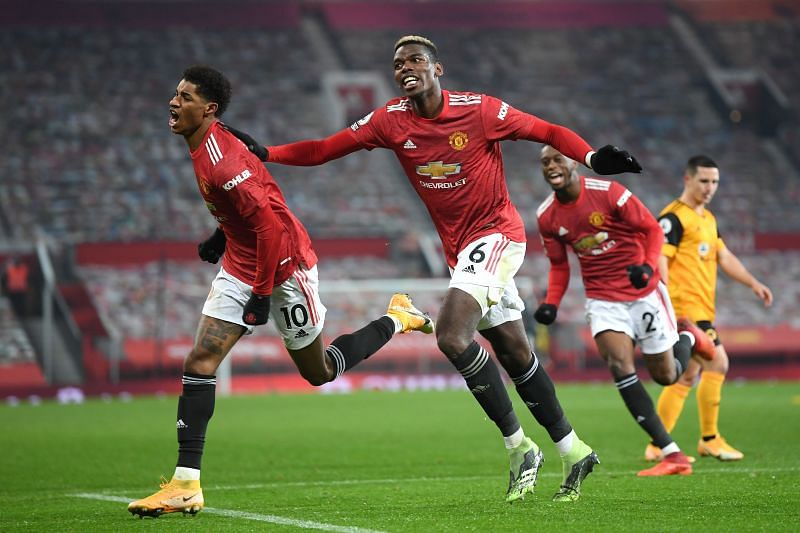 Manchester United are unbeaten in ten Premier League games