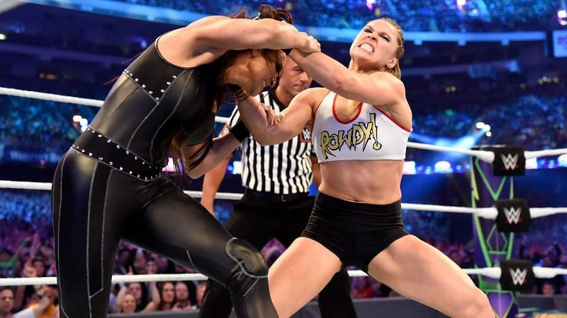 Ronda Rousey could make her WWE return sometime in 2021.