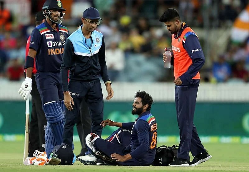 IND v AUS 2020: Ravindra Jadeja ruled out of T20I series, Shardul Thakur  named as replacement