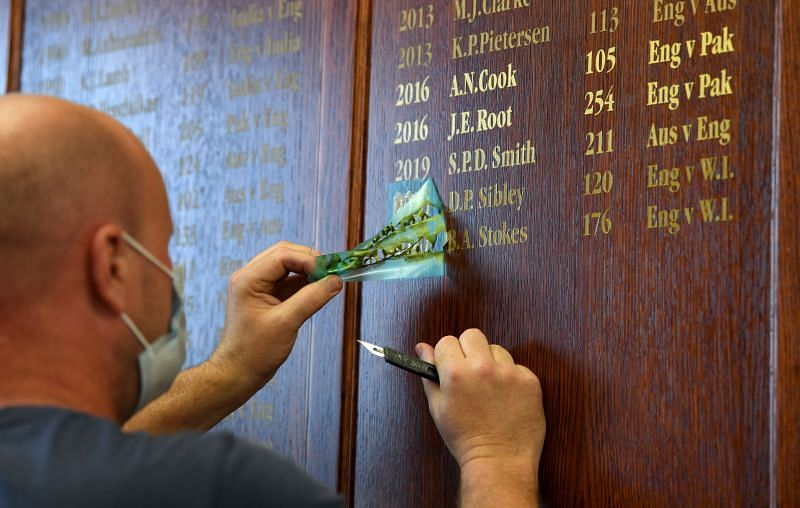 Ajinkya Rahane is only the second Indian to make it to the MCG Honours Board twice