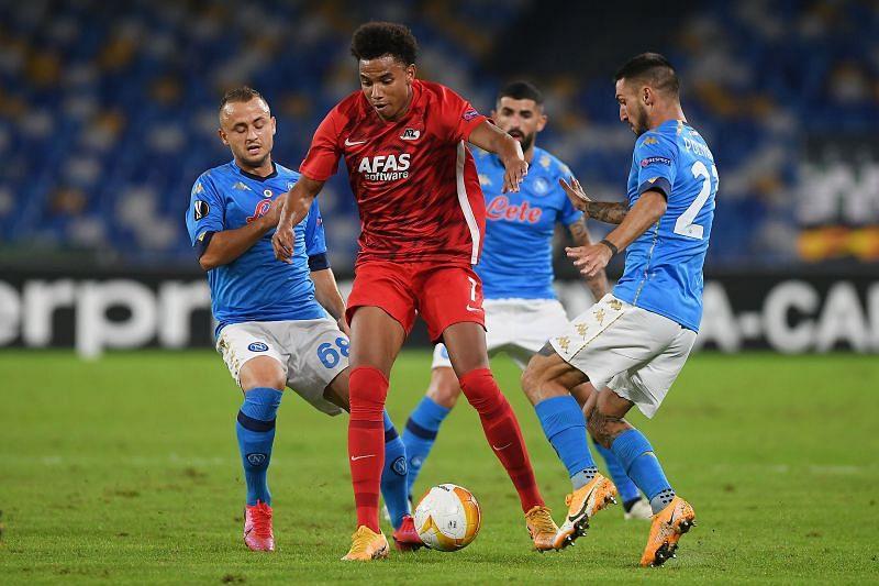 Napoli take on AZ Alkmaar this week