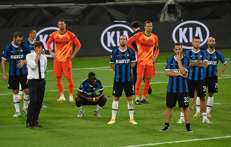 Inter Milan were one of the most disappointing clubs in 2020