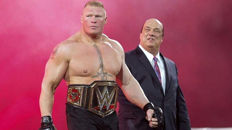 ब्रॉक लैसनर साल 2012 में WWE में वापसी कै के बाद से ही चोटिल नही हुए हैं