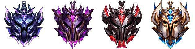 Victory Point Divisions - Diamond to Challenger (Image via Riot Games)