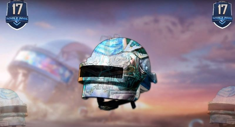 Turquoise helmet skin (Image via THE FUNNY HUNNY/YouTube)