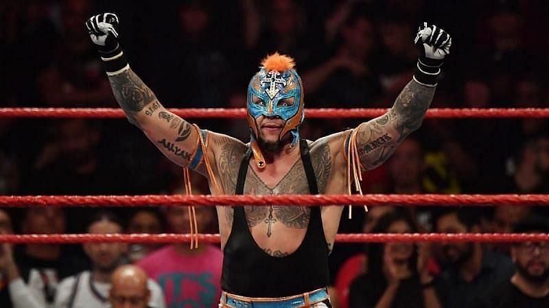 Rey Mysterio returned to WWE at the 2018 Royal Rumble.