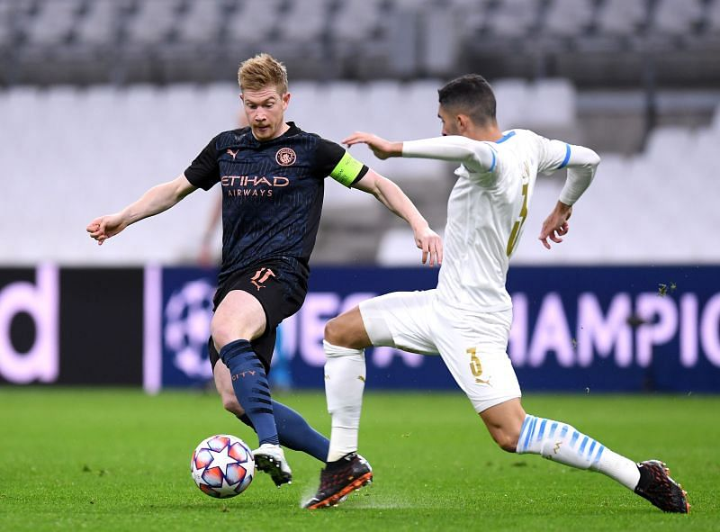 Manchester City take on Marseille this week