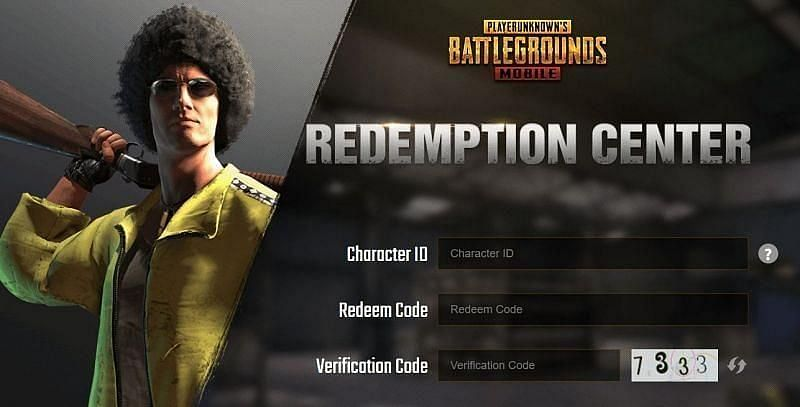 Enter the PUBG Mobile ID and redeem the code