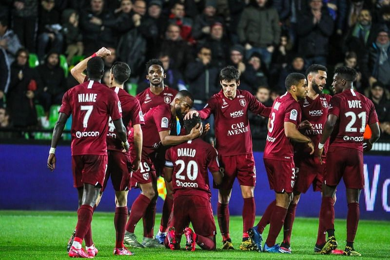 Metz will be looking to move up the Ligue 1 table with a win over Lens this weekend