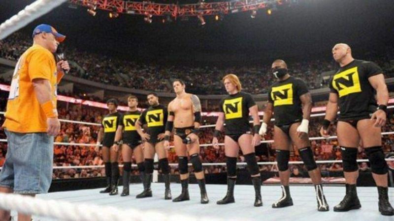जॉन सीना ने WWE में Nexus ज्वाइन करने से इनकार कर दिया था