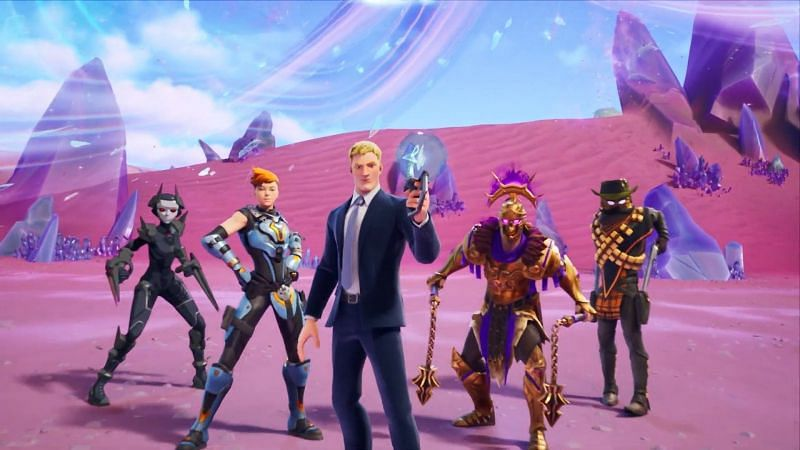 Fortnite can be a challenging game at times with so many things going on simultaneously (Image via Epic Games)