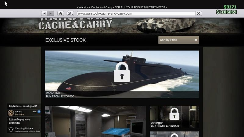 The Submarine can only be purchased after meeting with Miguel Madrazo in the Music Locker nightclub