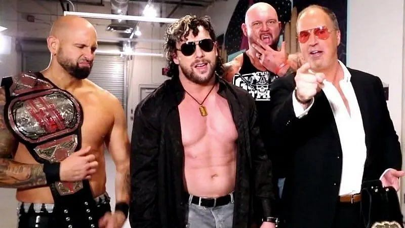 With Bullet Club trademarked by New Japan Pro Wrestling, is Super Elite the name for Kenny Omega