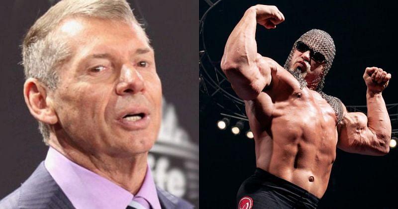 Vince McMahon and Scott Steiner.