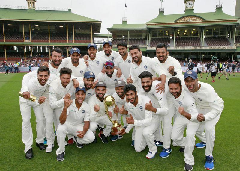 India won the Test series on their previous tour to Australia