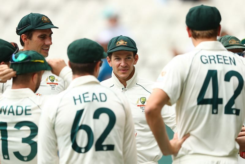 Australia lost the Boxing Day Test by 8 wickets