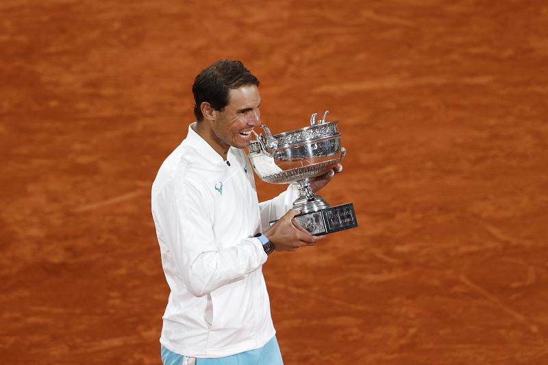 Rafael Nadal at the French Open 2020
