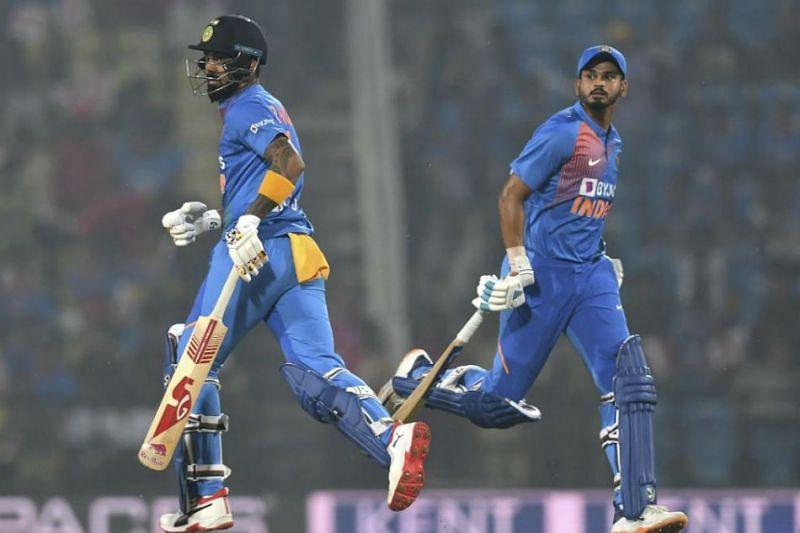 Shreyas Iyer at No. 4 and KL Rahul at No. 5 make up the core of India